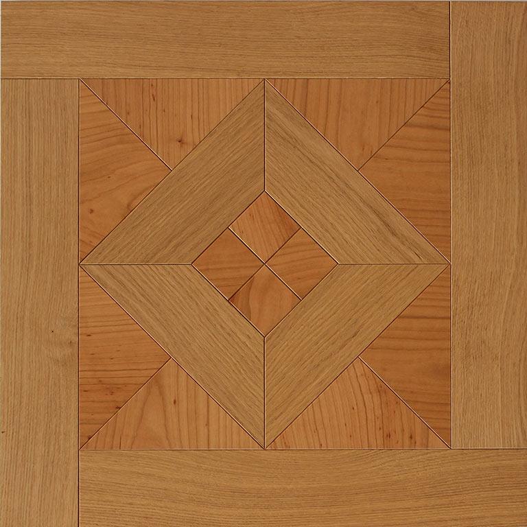Geometria III rovere - ciliegio